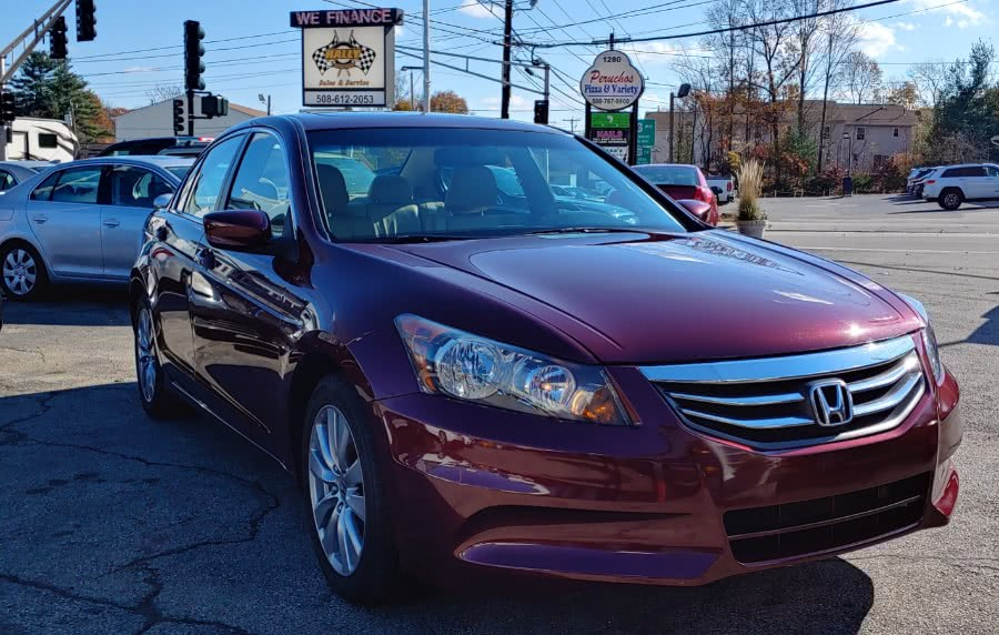Used Honda Accord Sdn 4dr I4 Auto EX-L 2012 | Rally Motor Sports. Worcester, Massachusetts