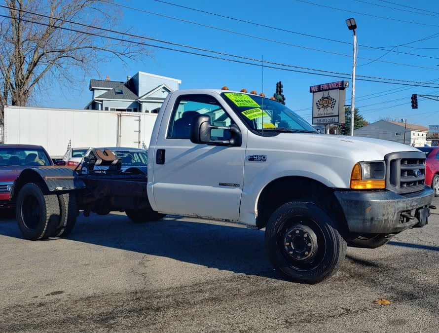 2000 Ford Super Duty F-450 Reg Cab 141