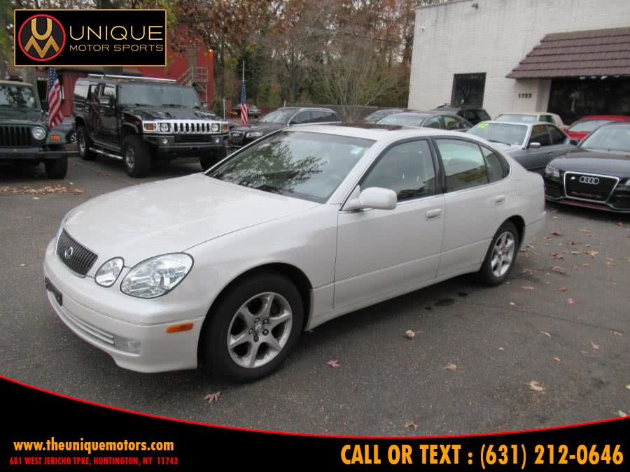 Used 2003 Lexus GS 300 in Huntington, New York | Unique Motor Sports. Huntington, New York