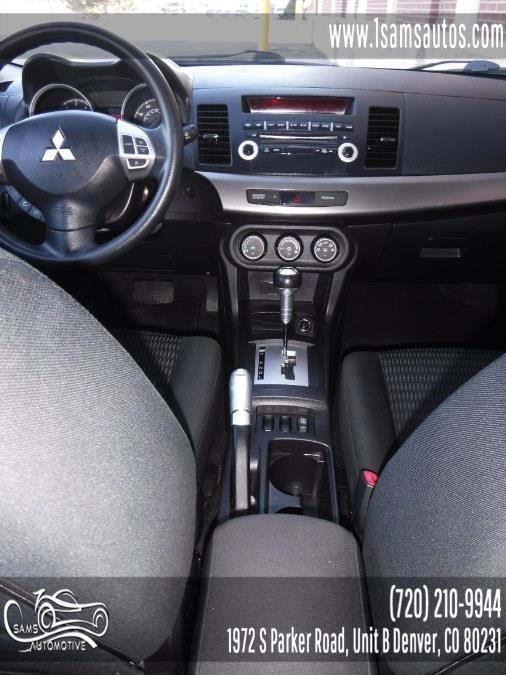 2013 Mitsubishi Lancer 4dr Sdn CVT SE AWD, available for sale in Denver, Colorado   Sam's Automotive. Denver, Colorado