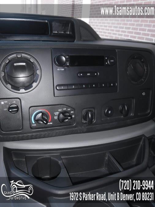 2013 Ford Econoline Cargo Van E-350 Super Duty Ext, available for sale in Denver, Colorado | Sam's Automotive. Denver, Colorado