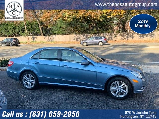 Used Mercedes-Benz E-Class 4dr Sdn E550 Luxury 4MATIC 2010 | The Boss Auto Group . Huntington, New York