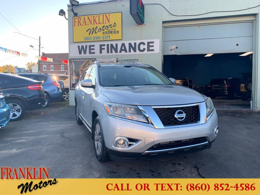 Used 2014 Nissan Pathfinder in Hartford, Connecticut | Franklin Motors Auto Sales LLC. Hartford, Connecticut