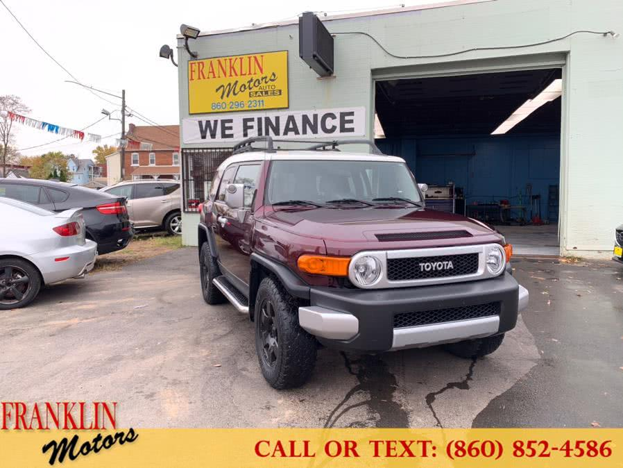 Used 2007 Toyota FJ Cruiser in Hartford, Connecticut | Franklin Motors Auto Sales LLC. Hartford, Connecticut