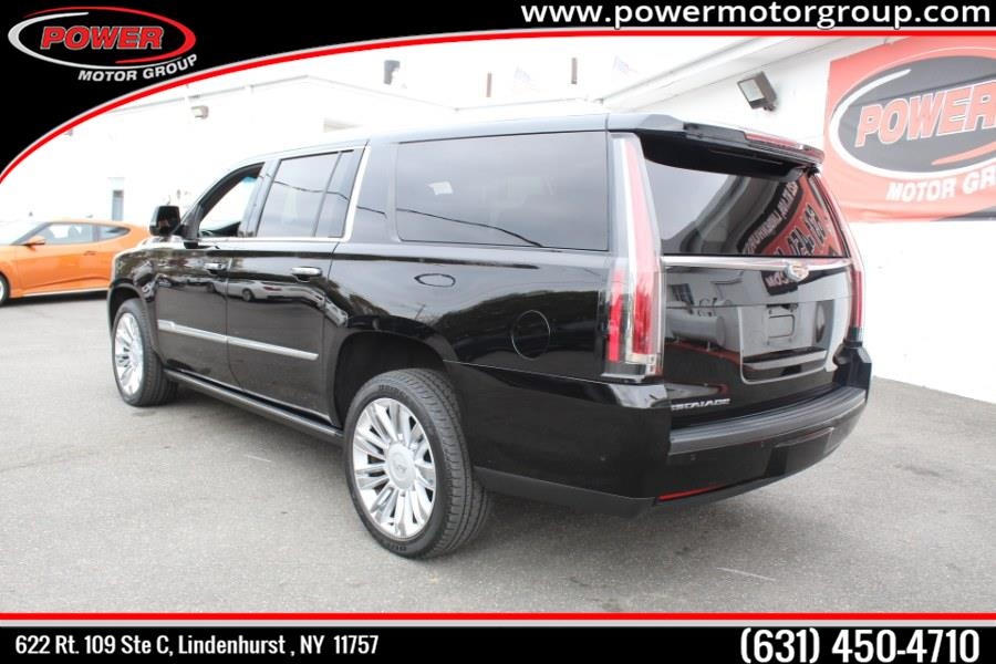 2017 Cadillac Escalade ESV 4WD 4dr Platinum, available for sale in Lindenhurst , New York | Power Motor Group. Lindenhurst , New York