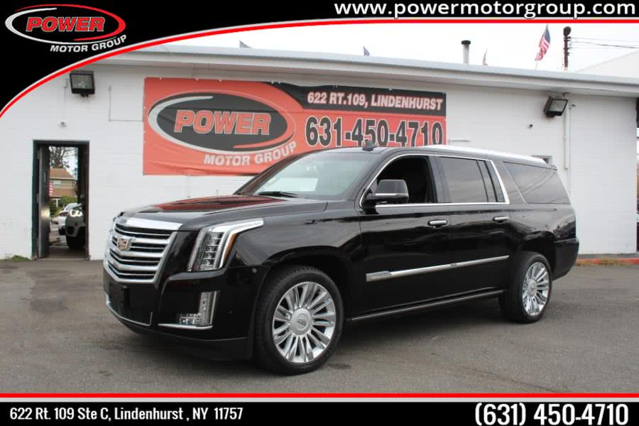 Used 2017 Cadillac Escalade ESV in Lindenhurst , New York | Power Motor Group. Lindenhurst , New York