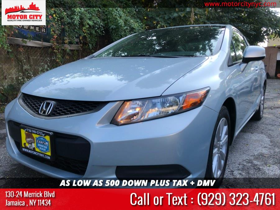 2012 Honda Civic Cpe 2dr Auto EX, available for sale in Jamaica, New York | Motor City. Jamaica, New York