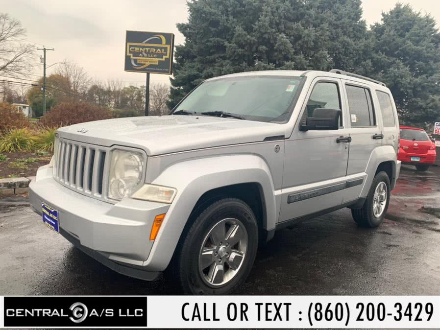Used Jeep Liberty 4WD 4dr Sport 2009 | Central A/S LLC. East Windsor, Connecticut