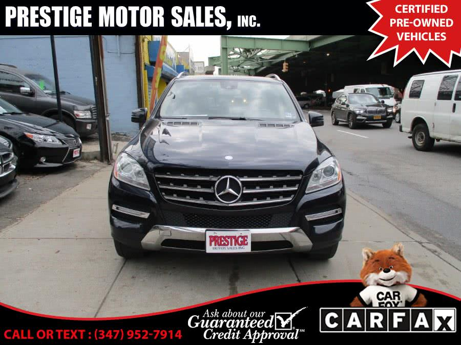 Used 2012 Mercedes-Benz M-Class in Brooklyn, New York | Prestige Motor Sales Inc. Brooklyn, New York