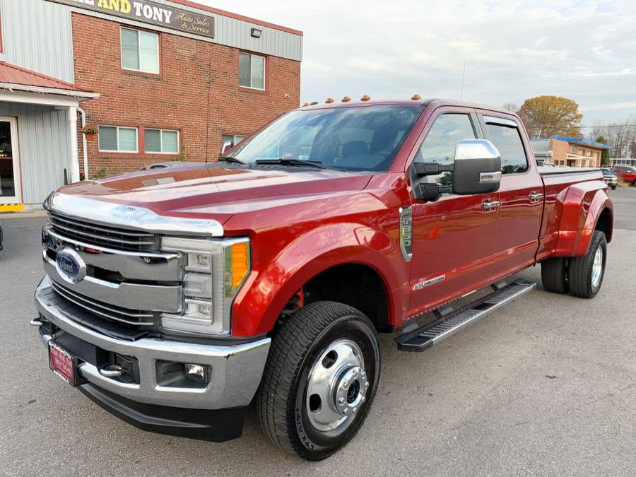 Used Ford Super Duty F-350 DRW Lariat 4WD Crew Cab 8'' Box 2017 | Mike And Tony Auto Sales, Inc. South Windsor, Connecticut