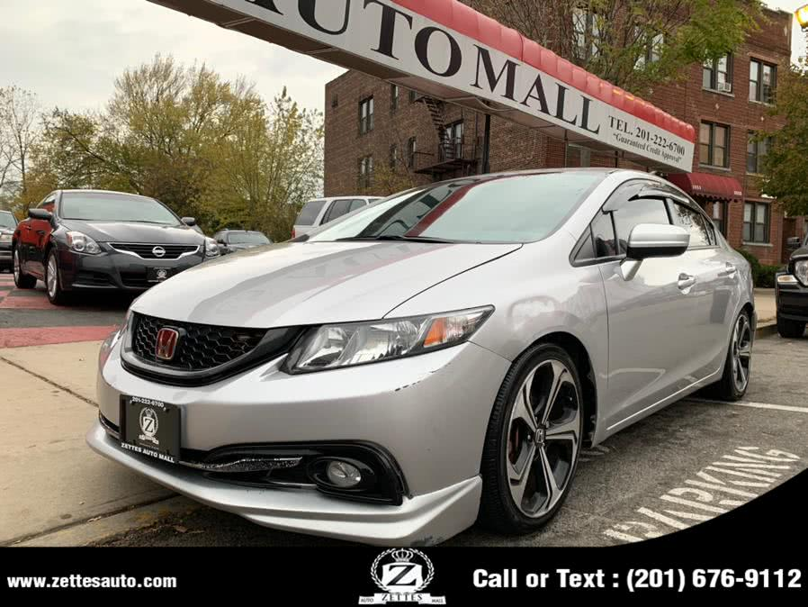 Used Honda Civic Sedan 4dr CVT EX 2015 | Zettes Auto Mall. Jersey City, New Jersey