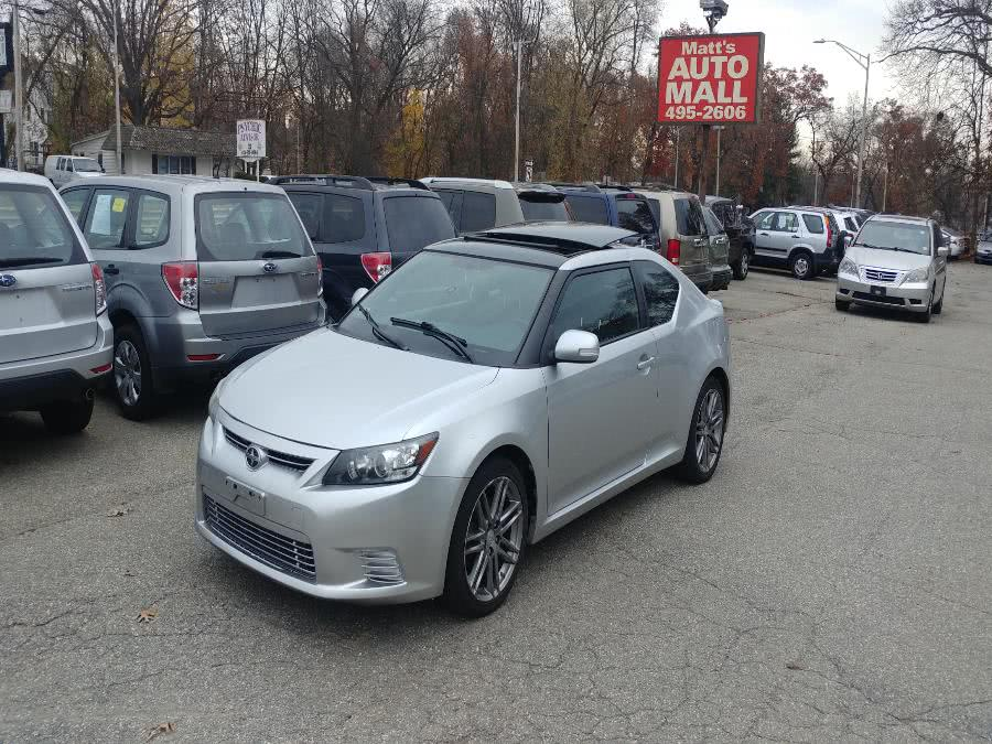 Used Scion tC 2dr HB Man 2012 | Matts Auto Mall LLC. Chicopee, Massachusetts