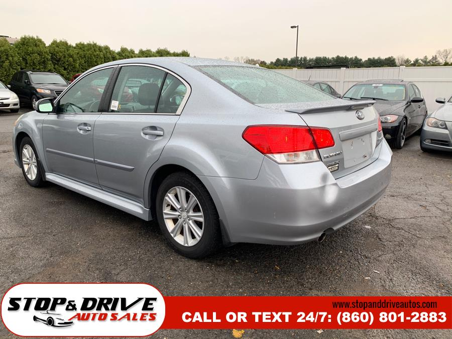 2012 Subaru Legacy 4dr Sdn H4 Auto 2.5i Premium, available for sale in East Windsor, Connecticut | Stop & Drive Auto Sales. East Windsor, Connecticut
