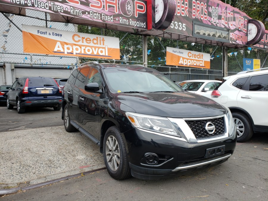 2014 Nissan Pathfinder 4WD 4dr S, available for sale in Brooklyn, New York | Rubber Bros Auto World. Brooklyn, New York