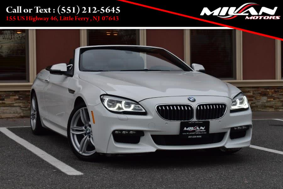 Used BMW 6 Series 2dr Conv 640i xDrive AWD 2016 | Milan Motors. Little Ferry , New Jersey