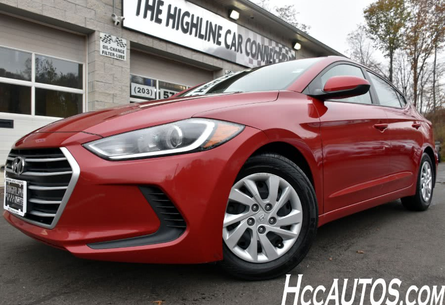 Used 2017 Hyundai Elantra in Waterbury, Connecticut | Highline Car Connection. Waterbury, Connecticut