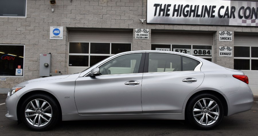 2016 INFINITI Q50 4dr Sdn 2.0t Premium AWD, available for sale in Waterbury, Connecticut | Highline Car Connection. Waterbury, Connecticut
