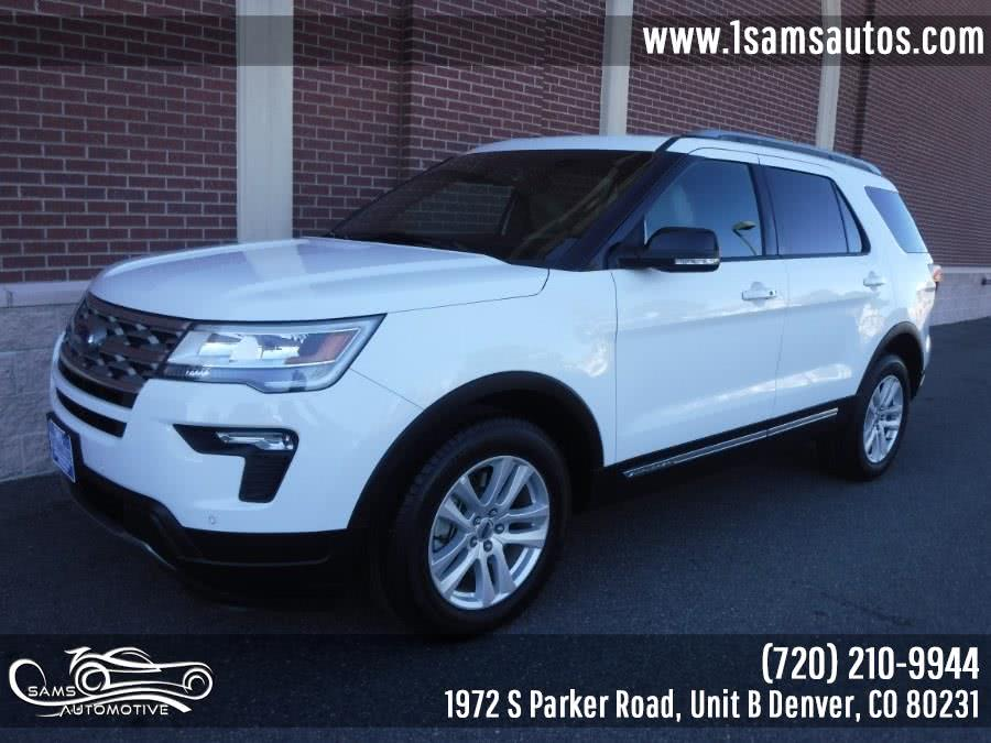 Used 2018 Ford Explorer in Denver, Colorado | Sam's Automotive. Denver, Colorado