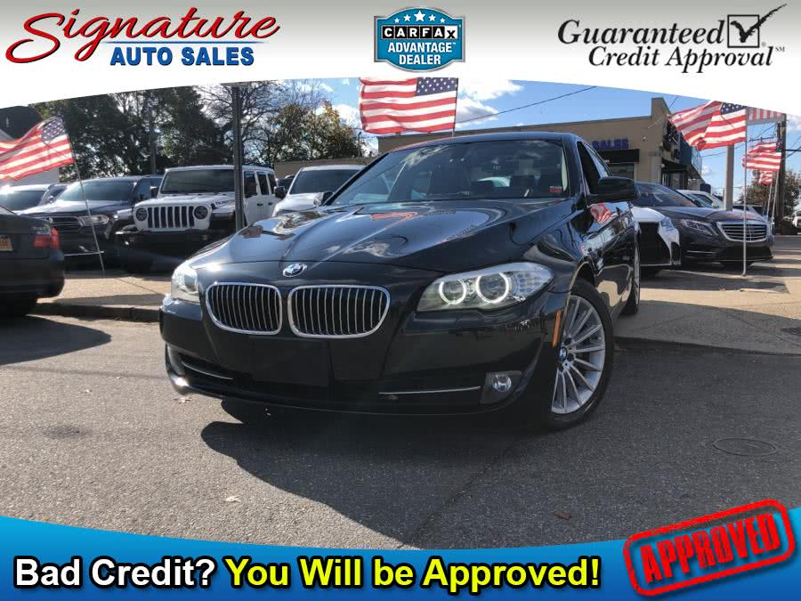 Used 2013 BMW 5 Series in Franklin Square, New York | Signature Auto Sales. Franklin Square, New York