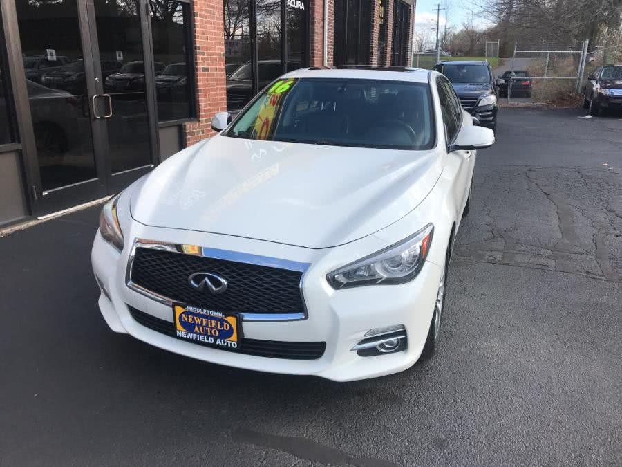 Used 2016 INFINITI Q50 in Middletown, Connecticut | Newfield Auto Sales. Middletown, Connecticut