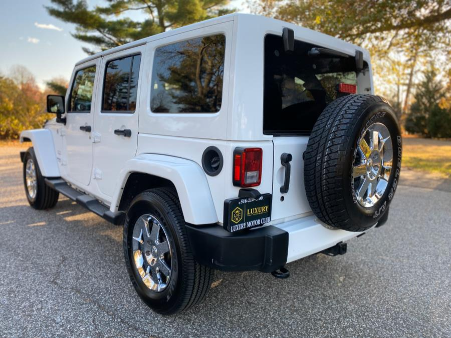 2016 Jeep Wrangler Unlimited 4WD 4dr Sahara, available for sale in Franklin Square, New York   Luxury Motor Club. Franklin Square, New York