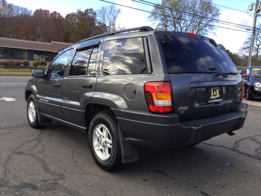 2003 Jeep Grand Cherokee 4dr Laredo 4WD, available for sale in Plantsville, Connecticut | L&S Automotive LLC. Plantsville, Connecticut