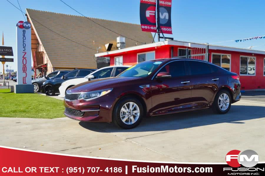 Used 2016 Kia Optima in Moreno Valley, California | Fusion Motors Inc. Moreno Valley, California