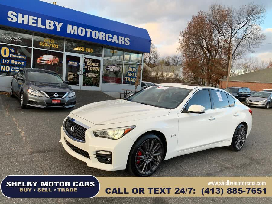 Used INFINITI Q50 Red Sport 400 AWD 2017 | Shelby Motor Cars . Springfield, Massachusetts