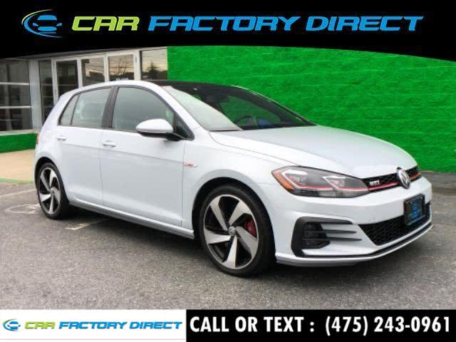 Used Volkswagen Golf Gti Autobahn 2018 | Car Factory Direct. Milford, Connecticut