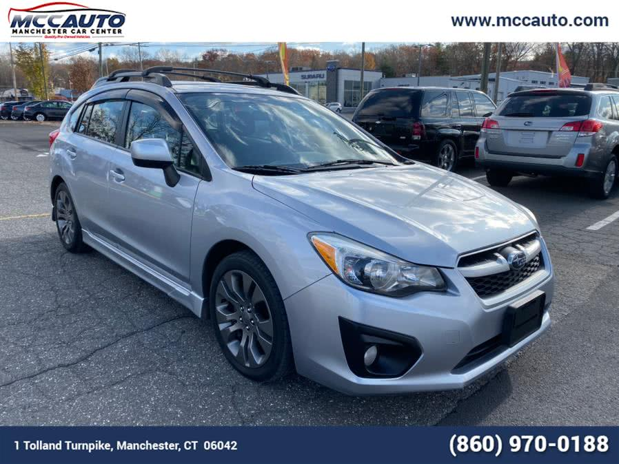 Used Subaru Impreza Wagon 5dr Auto 2.0i Sport Premium 2014 | Manchester Car Center. Manchester, Connecticut