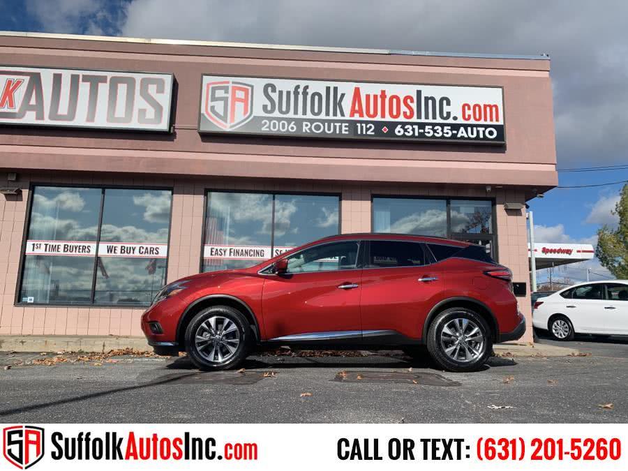Used Nissan Murano AWD Platinum 2018 | Suffolk Autos Inc. Medford , New York