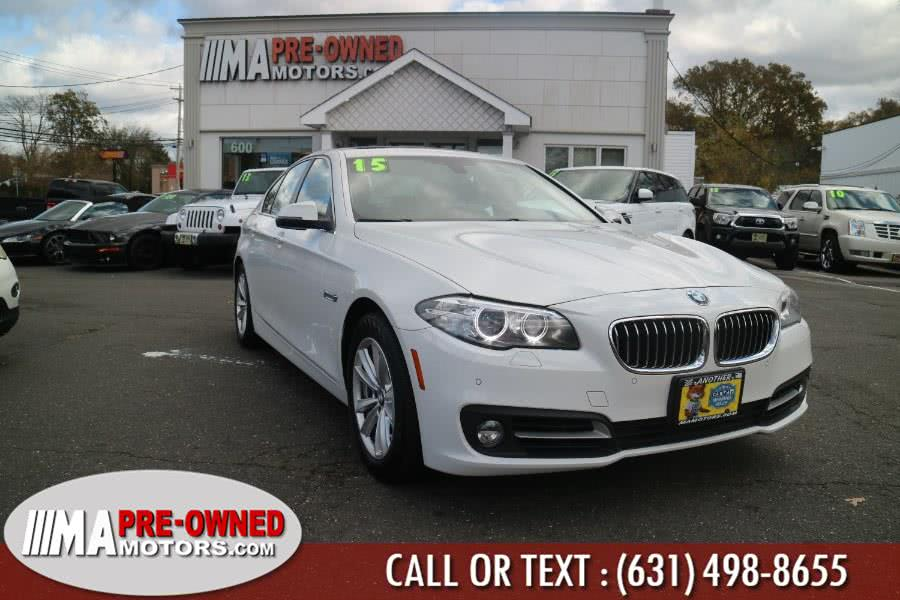 Used 2015 BMW 5 Series in Huntington, New York | M & A Motors. Huntington, New York