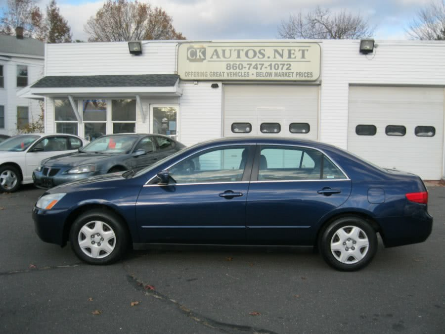 Used 2005 Honda Accord Sdn in Plainville, Connecticut | CK Autos. Plainville, Connecticut