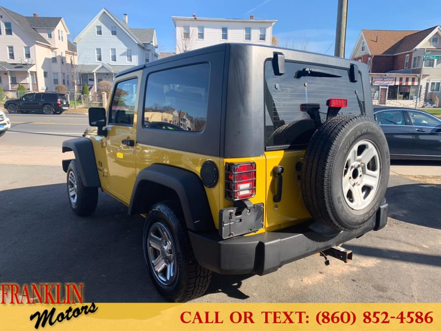 Used Jeep Wrangler 4WD 2dr X 2009 | Franklin Motors Auto Sales LLC. Hartford, Connecticut