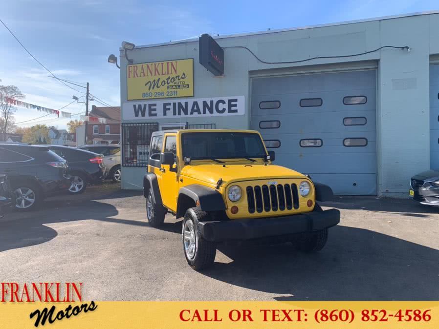 Used 2009 Jeep Wrangler in Hartford, Connecticut | Franklin Motors Auto Sales LLC. Hartford, Connecticut