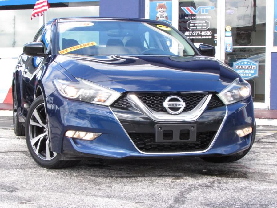 Used 2016 Nissan Maxima in Orlando, Florida | VIP Auto Enterprise, Inc. Orlando, Florida