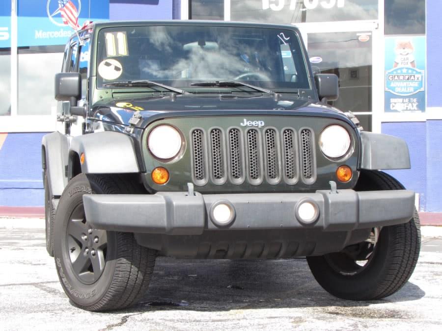Used 2011 Jeep Wrangler Unlimited in Orlando, Florida | VIP Auto Enterprise, Inc. Orlando, Florida