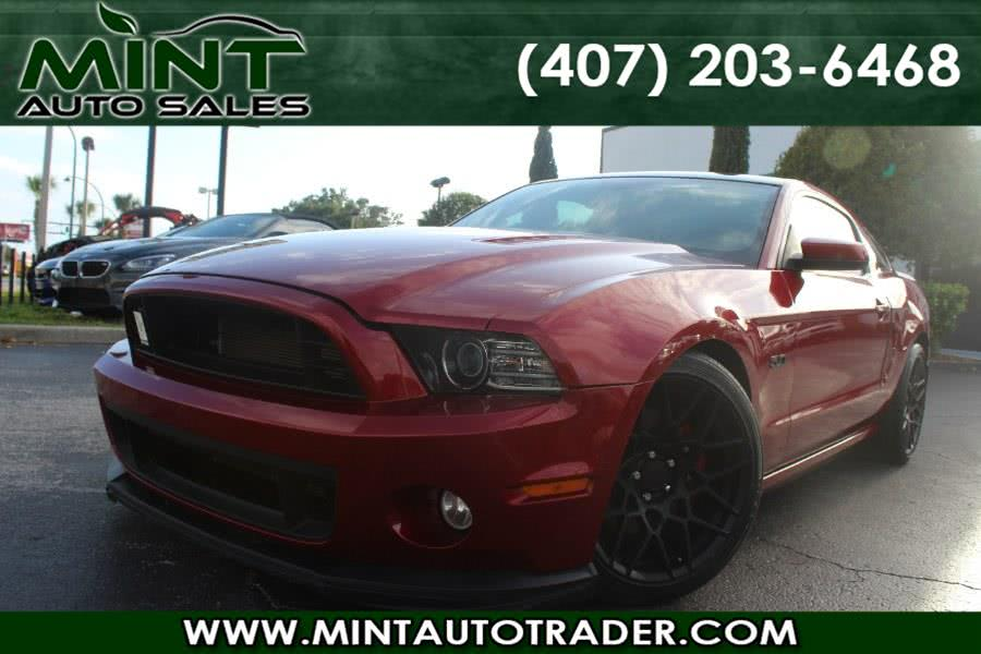 2014 Ford Mustang GT 2dr Cpe 6 Speed Manual, available for sale in Orlando, Florida | Mint Auto Sales. Orlando, Florida