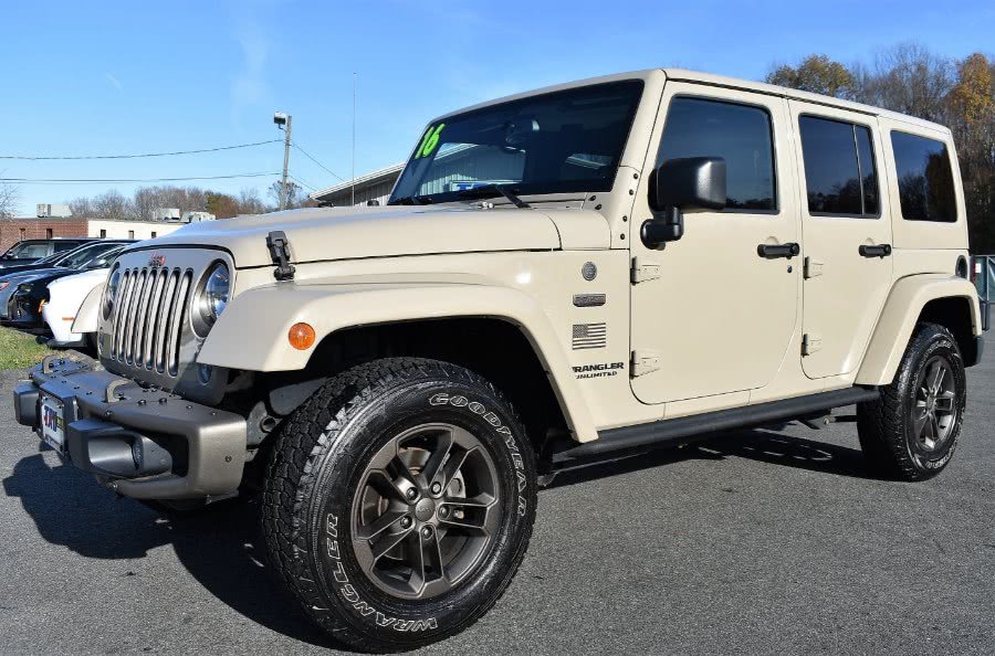 Used 2016 Jeep Wrangler Unlimited in Berlin, Connecticut | Tru Auto Mall. Berlin, Connecticut