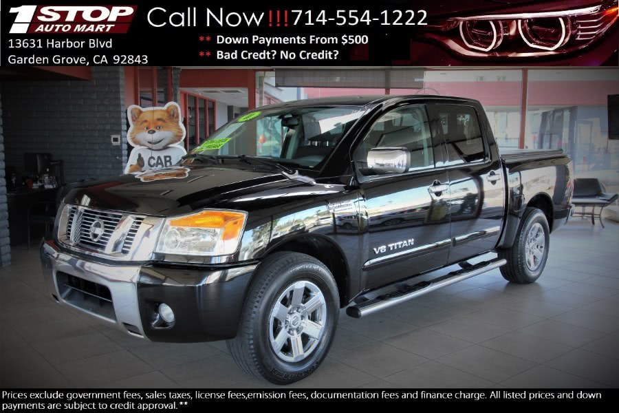 Used 2011 Nissan Titan in Garden Grove, California | 1 Stop Auto Mart Inc.. Garden Grove, California