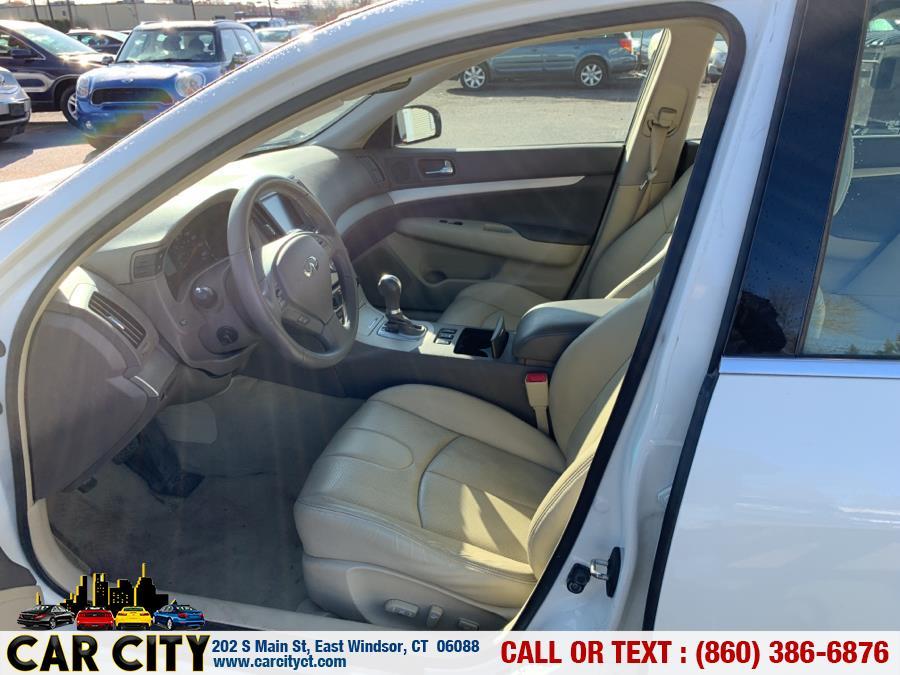 2008 Infiniti G35 Sedan 4dr x AWD, available for sale in East Windsor, Connecticut | Car City LLC. East Windsor, Connecticut