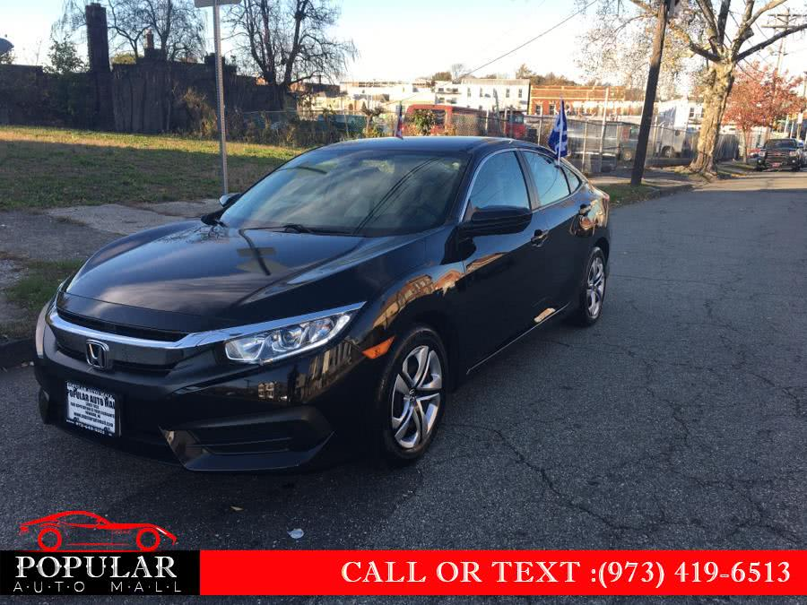 Used 2017 Honda Civic Sedan in Newark , New Jersey | Popular Auto Mall Inc . Newark , New Jersey