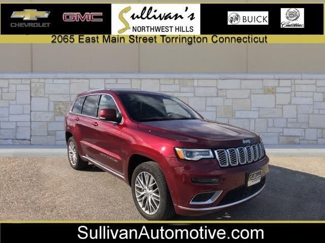Used Jeep Grand Cherokee Summit 2018 | Sullivan Automotive Group. Avon, Connecticut