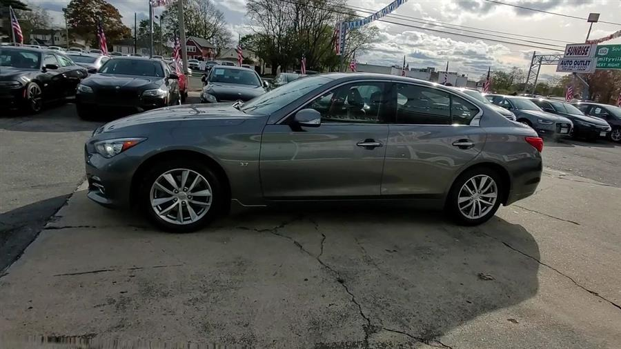 Used INFINITI Q50 4dr Sdn Premium AWD 2015 | Sunrise Auto Outlet. Amityville, New York