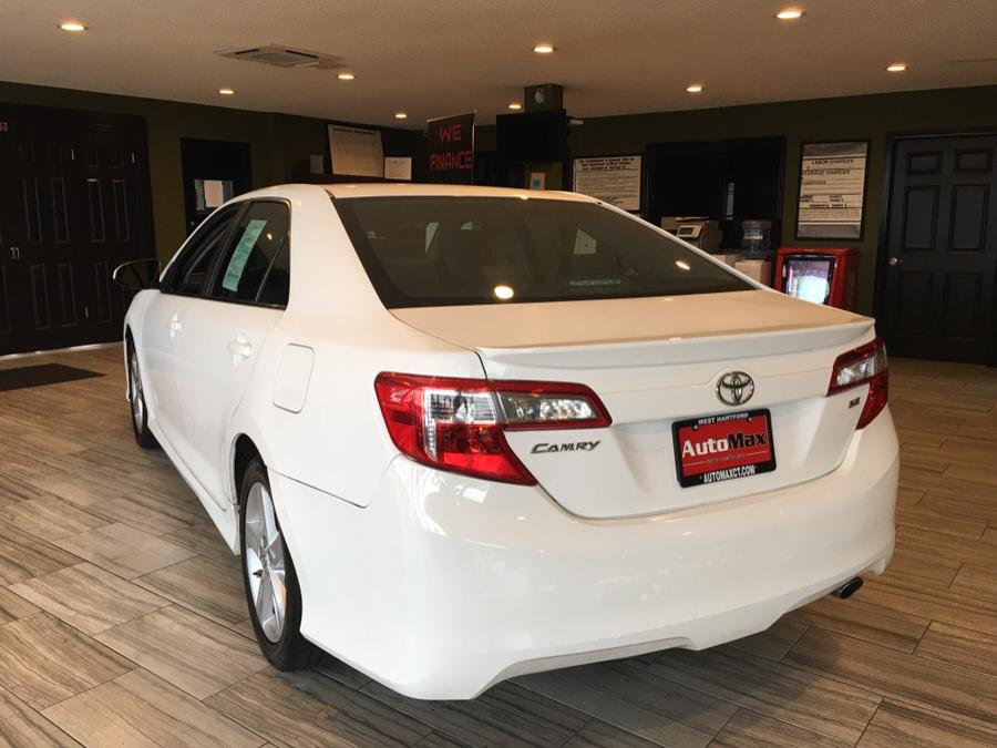 2012 Toyota Camry 4dr Sdn I4 Auto SE (Natl), available for sale in West Hartford, Connecticut | AutoMax. West Hartford, Connecticut
