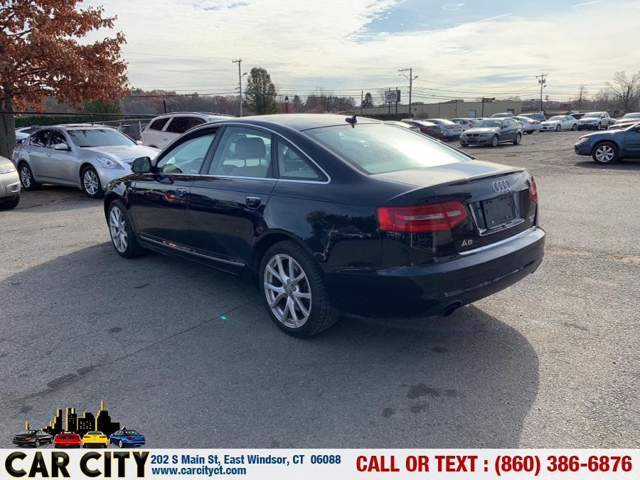 2010 Audi A6 4dr Sdn quattro 3.0T Premium Plus, available for sale in East Windsor, Connecticut | Car City LLC. East Windsor, Connecticut