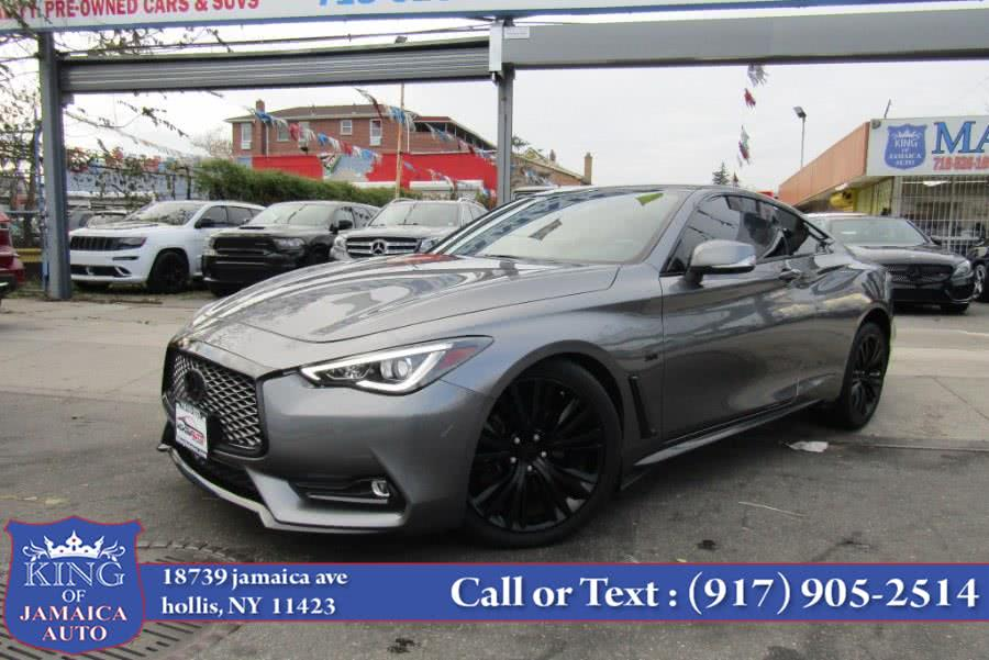Used 2017 INFINITI Q60 in Hollis, New York | King of Jamaica Auto Inc. Hollis, New York