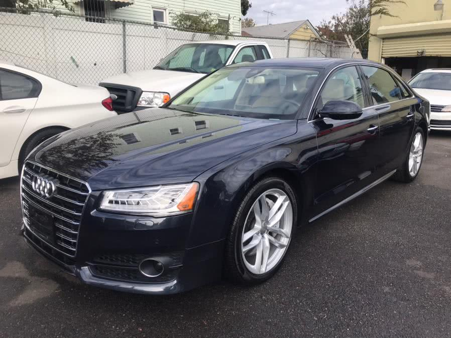 Used 2017 Audi A8 L in Jamaica, New York | Sunrise Autoland. Jamaica, New York