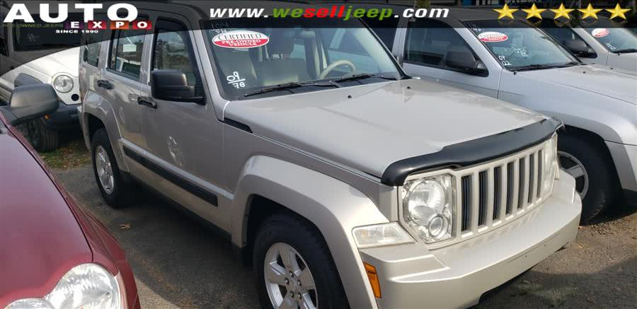 2009 Jeep Liberty 4WD 4dr Sport, available for sale in Huntington, NY