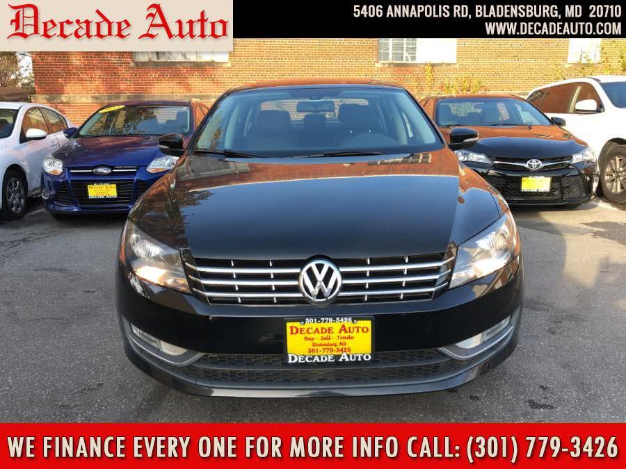 Used 2014 Volkswagen Passat in Bladensburg, Maryland | Decade Auto. Bladensburg, Maryland